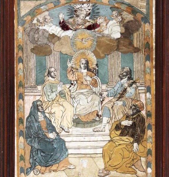 Three beautiful works of Italian manufacture of the eighteenth century